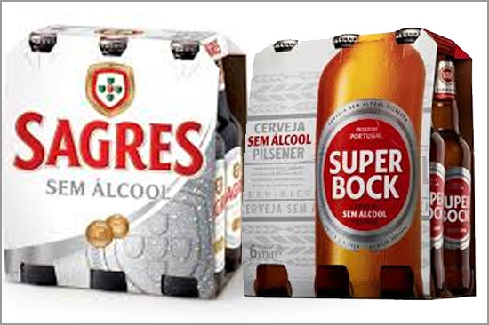Sagres - Super Bock - Sem Álcool - Capeia Arraiana