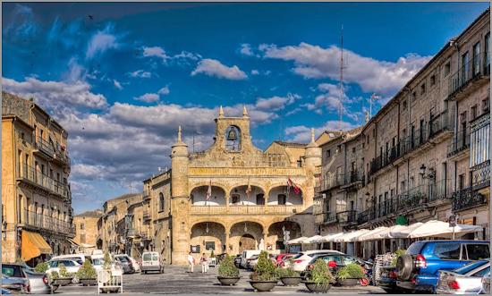 Plaza Mayor - Ciudad Rodrigo -Foto: Jorjuco