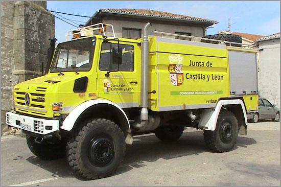 Viatura Combate Incêndios Florestais - Bombeiros - NavasFrias - Capeia Arraiana