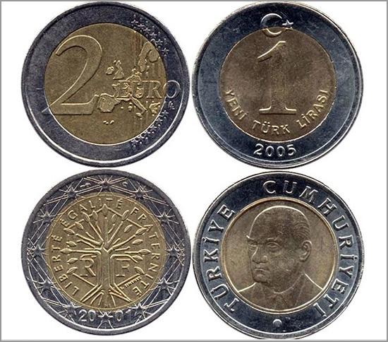 Euro e a Lira Turca - Capeia Arraiana