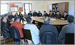 Mesa das Juntas de Freguesia _ Sortelha