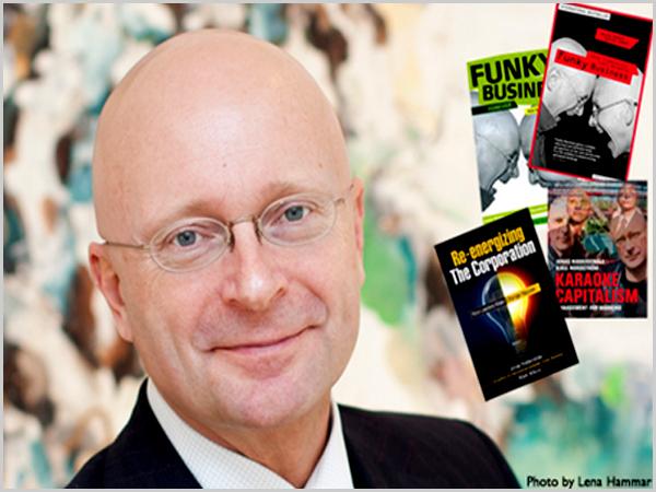 Jonas Ridderstrale. autor de Karaoke Capitalism