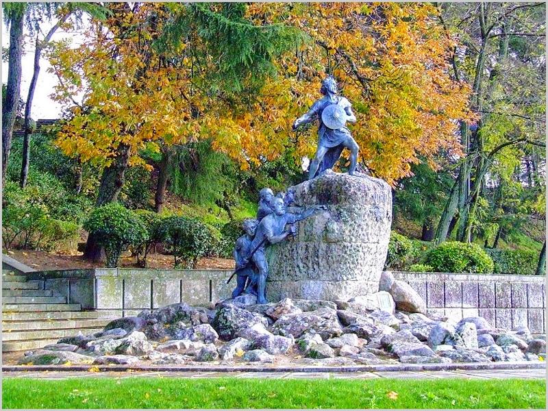Estátua de Viriato em Viseu