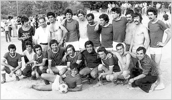Equipa de Futebol de Aldeia da Ponte - 1979 (Foto www.aldeiadaponte.com)