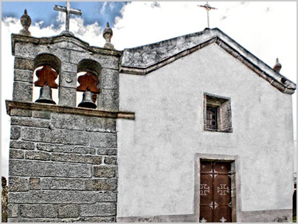 Igreja da freguesia da Lomba dos Palheiros (concelho do Sabugal)