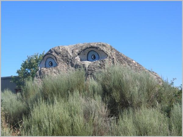 Barroco dos Olhos em Aldeia da Dona (autor: A.L. Tony)