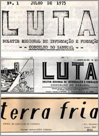 Jornais «A Luta» e «TerraFria»