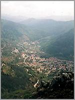 Vista aérea deManteigas