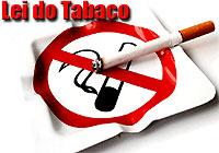 Lei do Tabaco - Cinzeiro