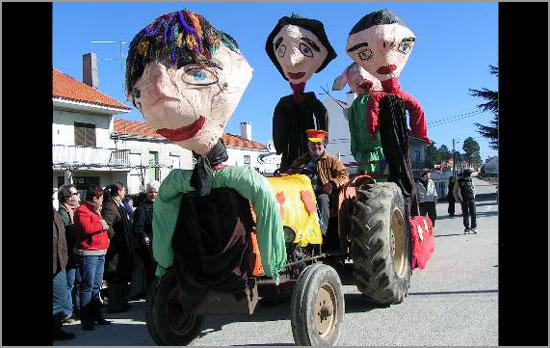 Carnaval 2008 - Aldeia do Bispo - Sabugal - Capeia Arraiana