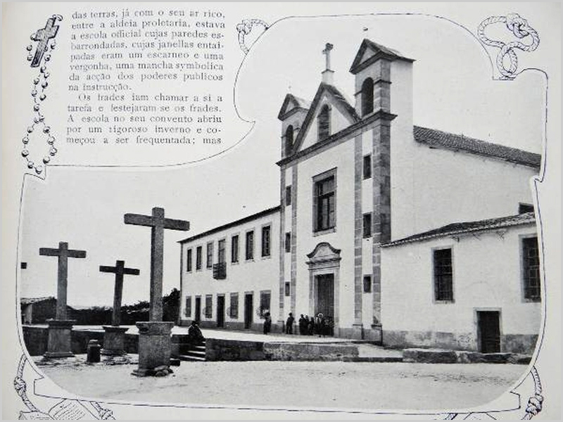 Antigo Colégio de Aldeia da Ponte - capeiaarraiana.pt