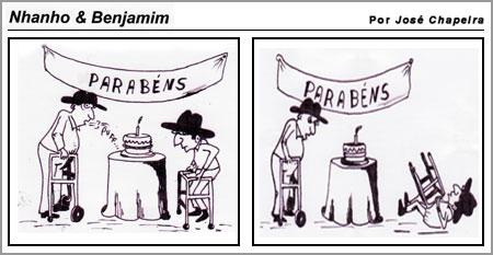 Cartoon de José Chapeira(10-3-2008)