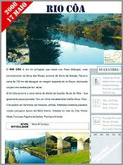 Rio Coa incluido na Rota do Turismo Activo