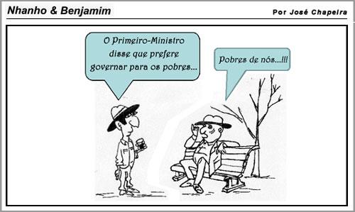 Cartoon – José Chapeira