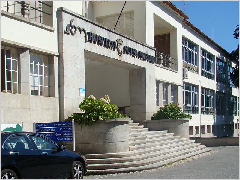 Hospital Sousa Martins na Guarda (foto: D.R.) - capeiaarraiana.pt