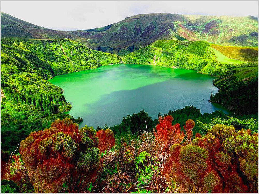 Ilha das Flores nos Açores