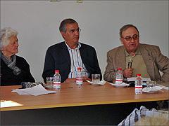 Maria Augusta, Virgilio Bento e Célio Rolinho Pires