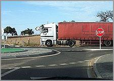 Camioes por Aldeia da Ponte