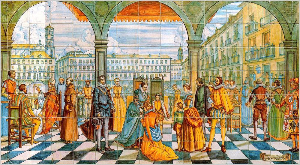 El hereje - Presentación de Don Juan de Austria con motivo del auto de fe del doctor Cazalla