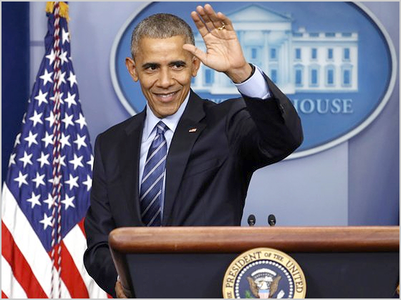 Barack Obama - presidente dos Estados Unidos da América