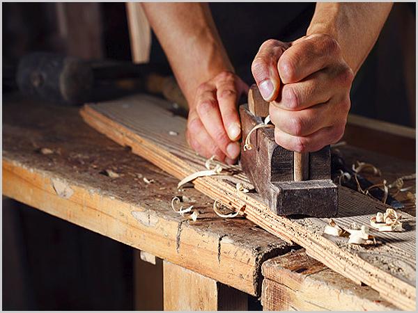 Aplainar madeira