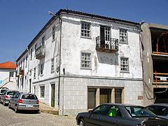 A casa onde nasceu Manuel A. Pina