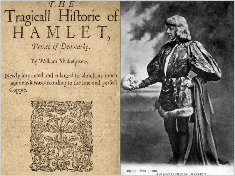 Hamlet, o príncipe da Dinamarca de Shakespeare