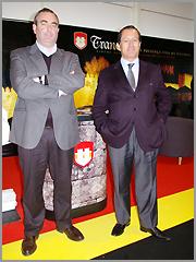 Júlio Sarmento (presidente) e João Carvalho (vereador)