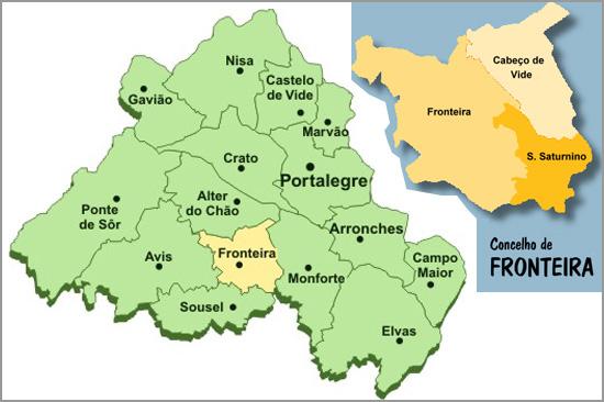 Concelho de Fronteira no distrito de Portalegre - capeiaarraiana.pt