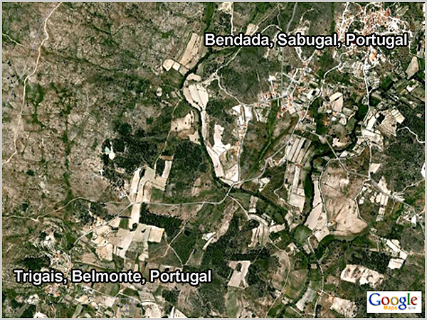 Aldeia de Trigais, anexa da freguesia da Bendada no concelho do Sabugal