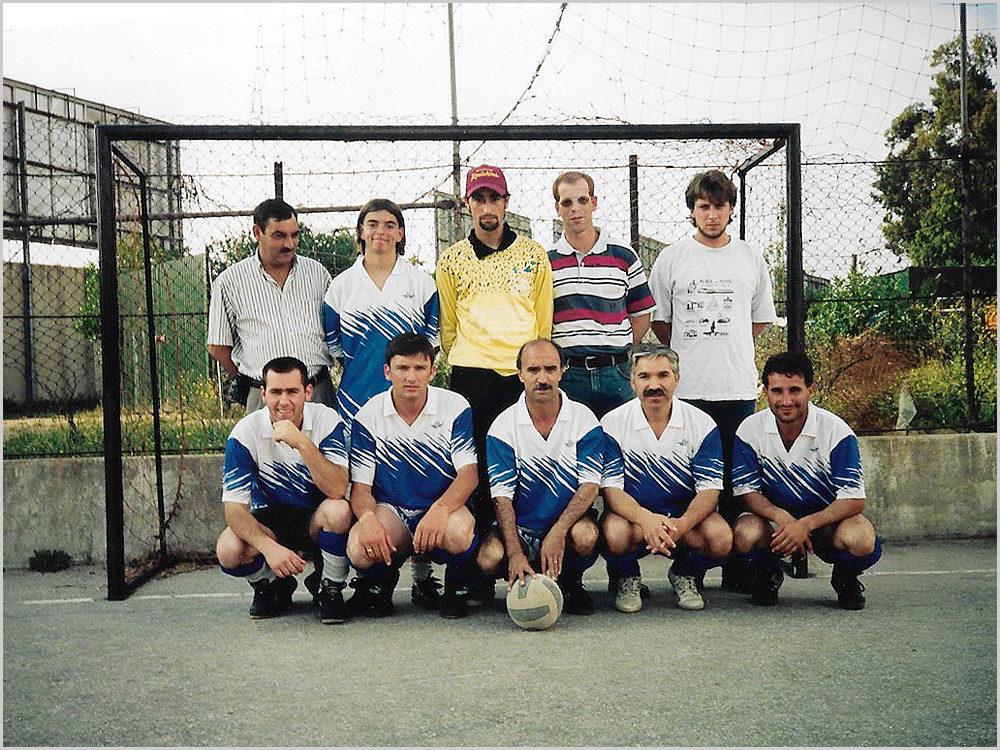 Equipa de Aldeia da Ponte no Torneio Inter-aldeias da Casa do Concelho do Sabugal