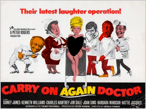 Carry On... os filmes da saga do realizador Peter Rogers