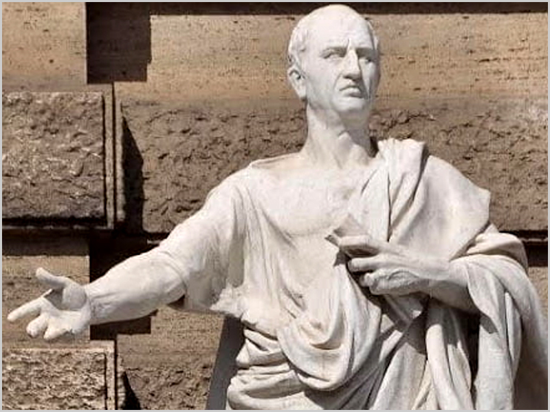 Marco Túlio Cícero (106-43 a.C.) - capeiaarraiana.pt