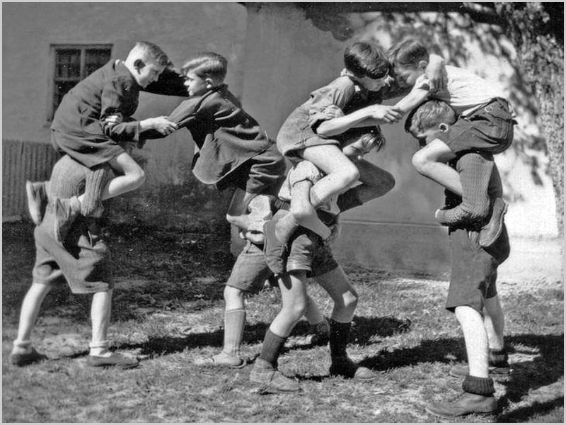 Brincadeiras de crianças antigamente