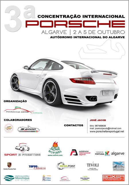 3.ª Concentração Internacional Porsche - Algarve
