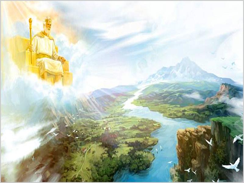 Deus e a criação da Terra