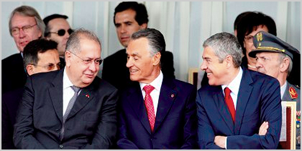 Jaime Gama, Cavaco Silva e José Sócrates - capeiaarraiana.pt