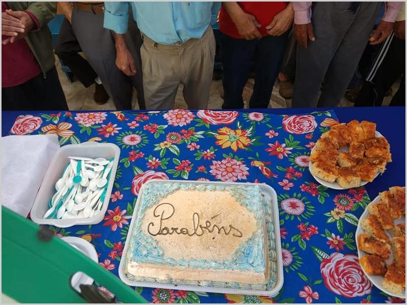 Parabéns à Dona Prazeres Garcia de Carvalho pelo seu 104.º aniversário