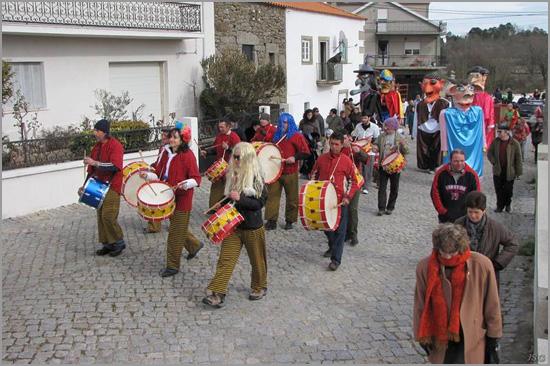 Carnaval em Aldeia do Bispo (Sabugal) - Foto: JSG