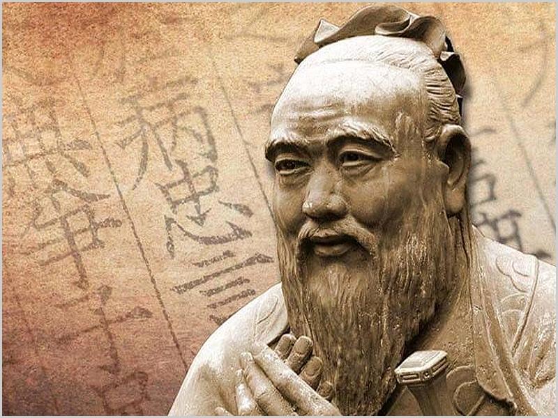 Confúcio, nascido possivelmente entre 552 a.c e 489 a.c foi um pensador e filósofo chinês