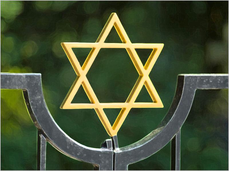 Estrela de David - símbolo dos judeus