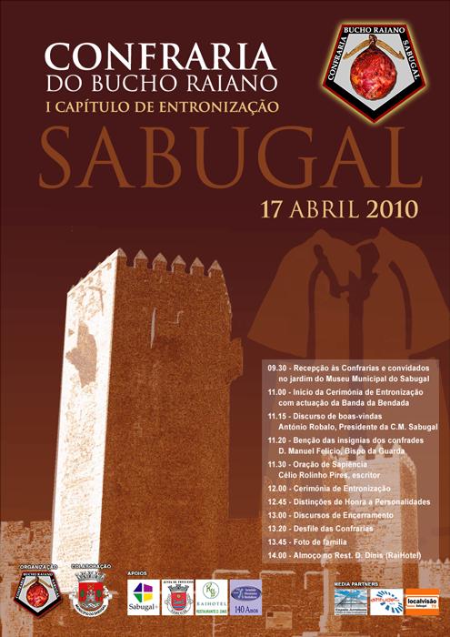 1.º Capítulo da Confraria do Bucho Raiano - Sabugal