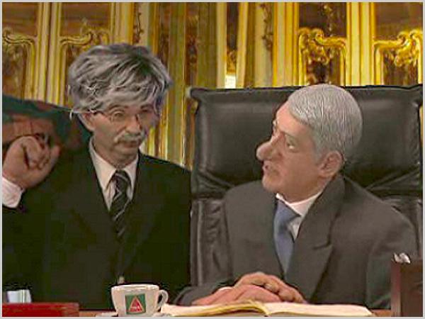 José Sócrates nos bonecos da Contra-Informação - capeiaarraiana.pt