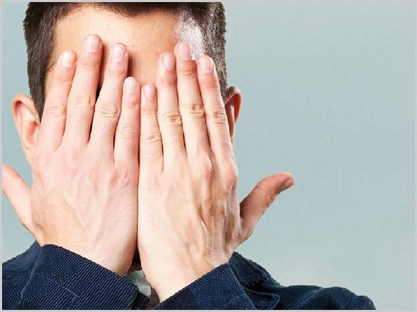 Olhos tapados - O maior cego é aquele que não quer ver