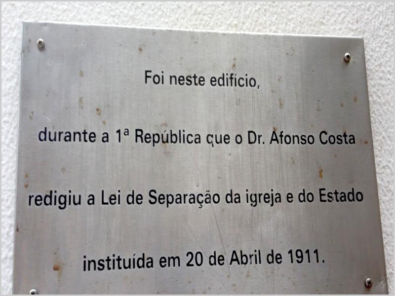Lei da Separação da Igreja e do Estado de Afonso Costa - capeiaarraiana.pt