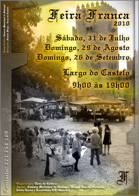 Feira Franca - Largo Castelo Sabugal - Casa do Castelo