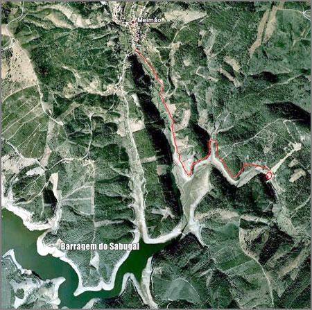 Barragem Sabugal - Meimão - Penamacor