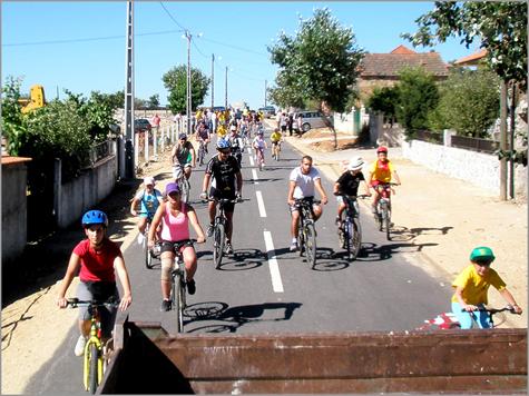 Passeio Cicloturismo Ruivós - Ponte Sequeiros - Ponte Badamalos