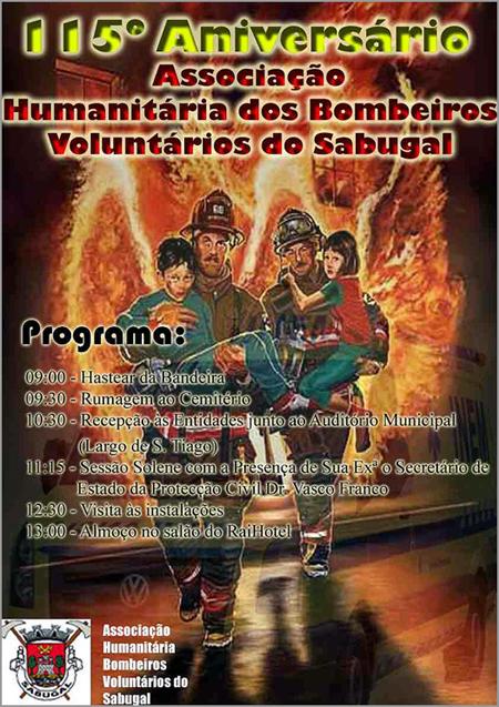 115.º Aniversário Bombeiros Voluntários Sabugal