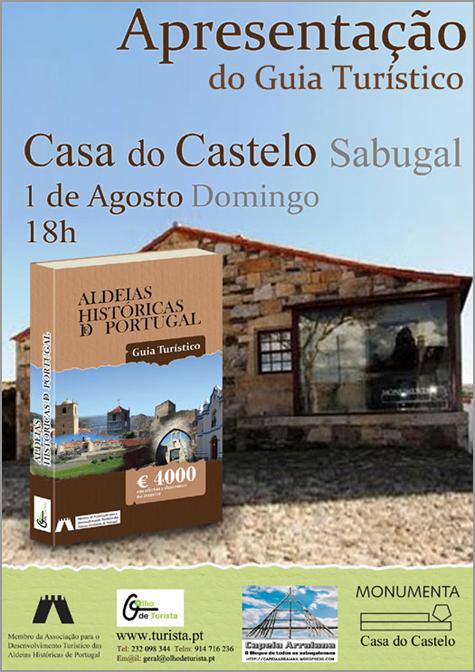 Apresentação Guia Turístico Aldeias Históricas Portugal - Casa do Castelo